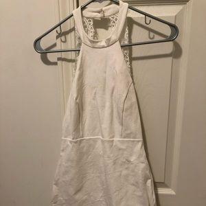 Lulus White Halter Dress
